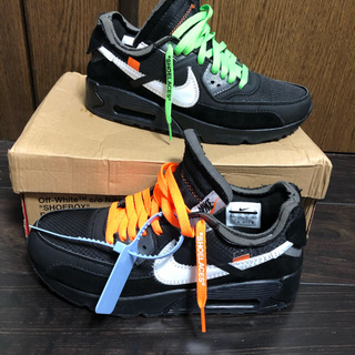 OFF-WHITE - 26.5 THE 10 NIKE AIR MAX 90 off-White