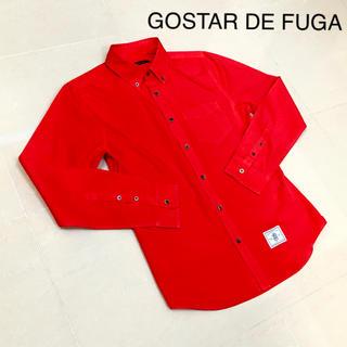 FUGA -  GOSTAR DE FUGA ゴスタールジフーガ   シャツ レッド