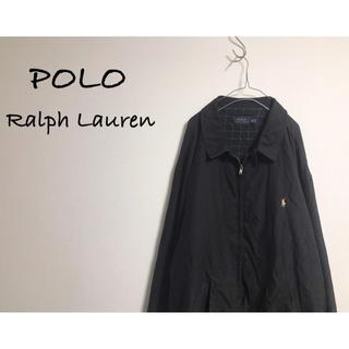 POLO RALPH LAUREN - 古着 POLO Ralph Lauren ビッグブルゾン ユニセックス