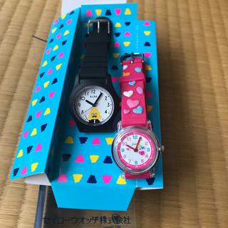 ALBAうんこ先生時計&  j-axisキッズ時計