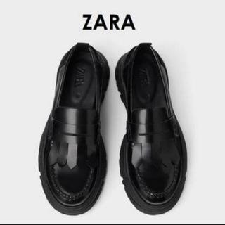 ザラ(ZARA)のZARA マキシソールローファー(その他)