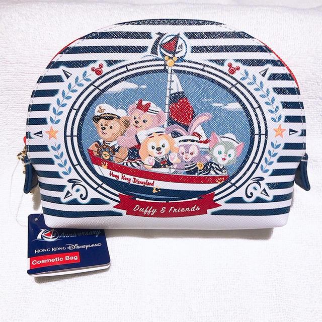 Disney(ディズニー)の新品ダッフィーフレンズ ポーチ エンタメ/ホビーのおもちゃ/ぬいぐるみ(キャラクターグッズ)の商品写真