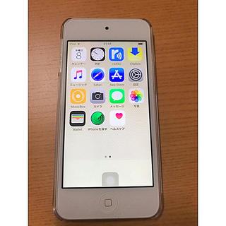 アイポッドタッチ(iPod touch)のiPod touch 6  ゴールド 64GB(ポータブルプレーヤー)