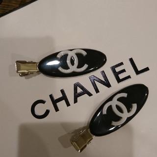 CHANEL - シャネル ヘア前髪クリップ 2個セット