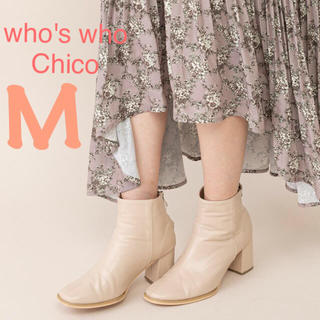 who's who Chico - クーポン限定値下げ☆【who's who Chico】スクエアショートブーツ