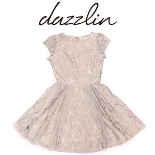 dazzlin - dazzlin 花柄総レース タックワンピース お嬢様