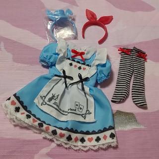 Takara Tomy - 美品 リカちゃん アリス ドレス セット ふしぎの国のアリス カチューシャ 人形