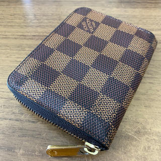 LOUIS VUITTON - 【人気♪良品♪】ルイヴィトン ダミエ  ジッピー コインパース 小銭入れ 財布