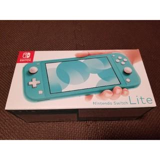 新品未開封 Nintendo Switch Lite ターコイズ (携帯用ゲーム機本体)