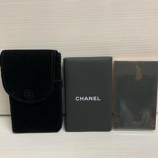 CHANEL - CHANEL シャネル あぶらとり紙 コントロールティッシュ ミラー