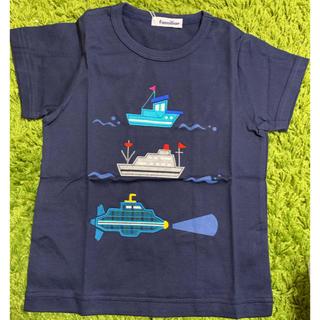 familiar - ☆ファミリア 船柄 Tシャツ 110㎝☆潜水艦