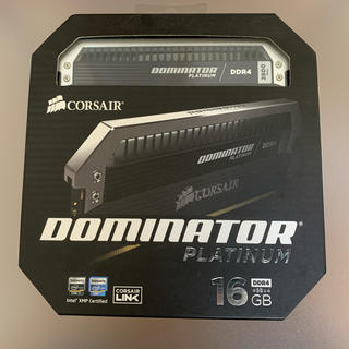 CORSAIR DDR4 メモリDOMINATOR PLATINUM その2