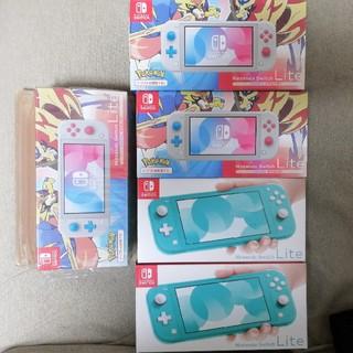 ■Nintendo Switch Lite 5台(家庭用ゲーム機本体)