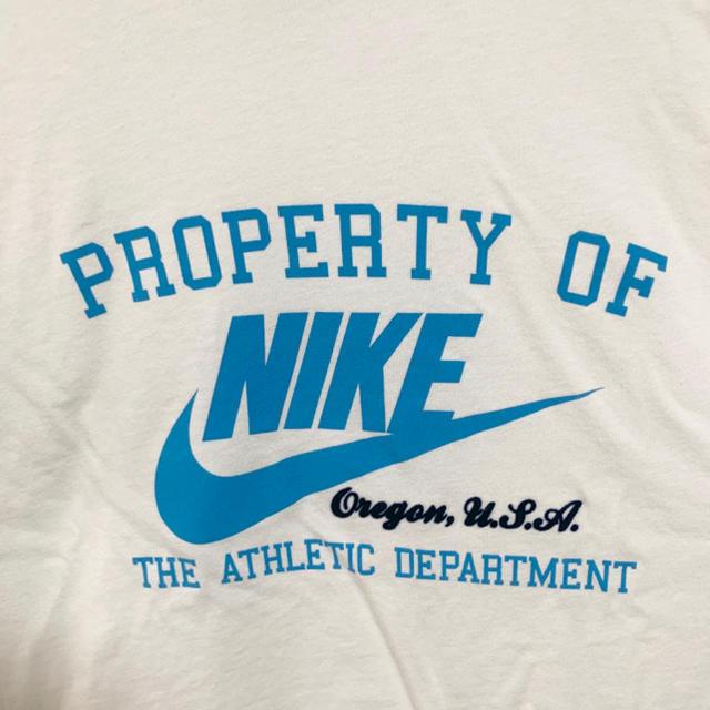 NIKE(ナイキ)の★未使用★NIKE Tシャツ メンズXL 白 ビッグロゴ デカロゴ メンズのトップス(Tシャツ/カットソー(半袖/袖なし))の商品写真