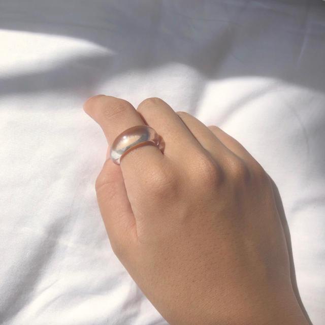 Kastane(カスタネ)のNarrow clear ring  レディースのアクセサリー(リング(指輪))の商品写真
