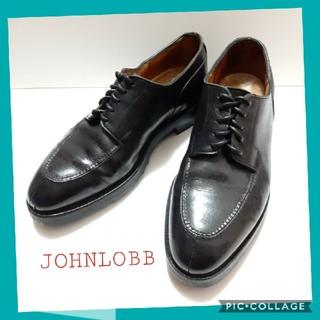 ジョンロブ(JOHN LOBB)のJOHNLOBB 中古 美品 7 CHAMBORD Uチップ ジョンロブ 高級靴(ドレス/ビジネス)