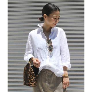 DEUXIEME CLASSE - Deuxieme Classe LINENウォッシュシャツ ホワイト