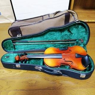 スズキ(スズキ)のSUZUKI 鈴木バイオリン 1/4 No.220 Anno1983 ジャンク品(ヴァイオリン)