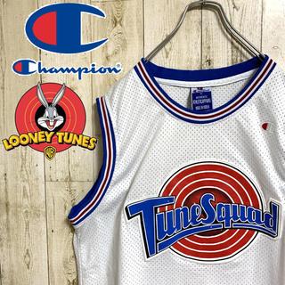 Champion - 【超激レア】チャンピオン ルーニーテューンズ MURRAY ゲームシャツ 90s