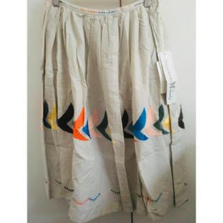 mina perhonen - 新品 ミナペルホネン  ランドリー bird スカート 36