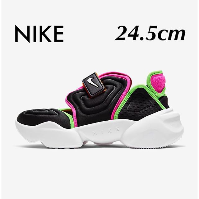 NIKE(ナイキ)のNIKE ナイキ アクアリフト 新品未使用 24.5cm エアリフト ネオン 黒 レディースの靴/シューズ(スニーカー)の商品写真