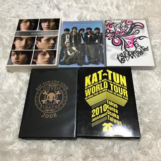 カトゥーン(KAT-TUN)のKAT-TUN LIVE DVD 2006 2008 2010(ミュージック)