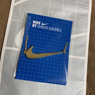 NIKE - ナイキ ゴールドネックレス  NIKE ネックレス スクランブルスクエア