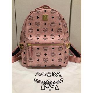 MCM - MCM リュックサック ピンク