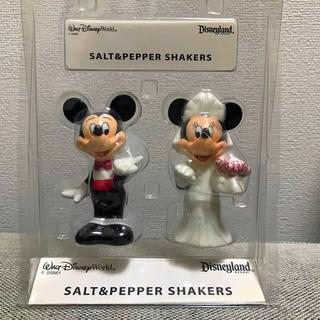 Disney - ディズニー ソルト&ペッパー入れ 塩コショウ入れ ウェディング ミッキー ミニー