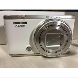 カシオ(CASIO)の*CASIO EXILIM EX-ZR4000 ホワイト 中古■ 良品(コンパクトデジタルカメラ)