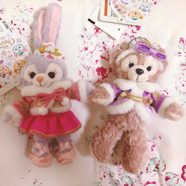 Disney(ディズニー)のステラルー&ダッフィー🍒 キッズ/ベビー/マタニティのおもちゃ(ぬいぐるみ/人形)の商品写真