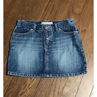 ブルームーンブルー(BLUE MOON BLUE)の古着 スカート デニムスカート ミニスカート 台形スカート(ミニスカート)
