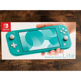 ニンテンドースイッチ(Nintendo Switch)の「Nintendo Switch  Lite ターコイズ」  任天堂 スイッチ(携帯用ゲーム機本体)