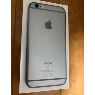 アップル(Apple)のiPhone6s 128GB SIMフリー バッテリー100%(スマートフォン本体)