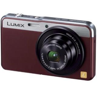 パナソニック(Panasonic)のLUMIXのデジタルカメラ DMC-XS3(ブラウン)(コンパクトデジタルカメラ)