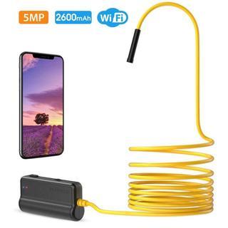 ワイヤレス内視鏡 5.0MP HDカメラ WIFI接続 15.7インチ焦点距離(その他)