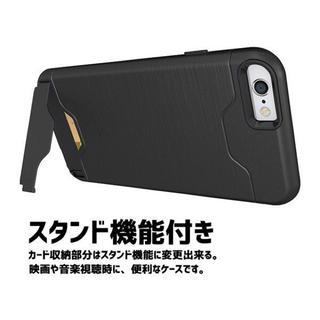 iPhone用スマホケース スタンド機能付/耐衝撃/カード収納(iPhoneケース)
