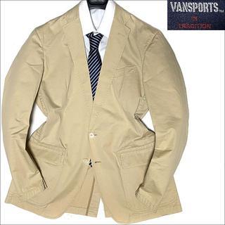 ヴァンヂャケット(VAN Jacket)のJ3574 良品 VAN SPORTS アンコンジャケット ベージュ L(テーラードジャケット)