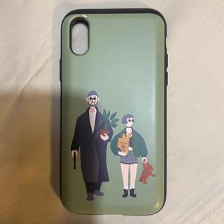 iPhone xs ケース カードケース付き leon レオン(iPhoneケース)