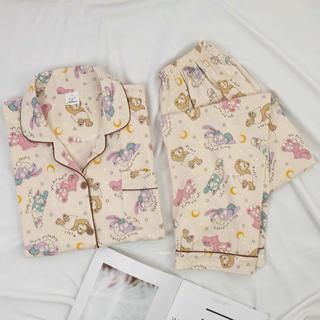 ◆新品◆可愛い ダッフィー&フレンズのレディース パジャマ 春夏用/長袖