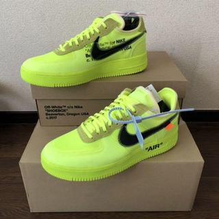 OFF-WHITE - NIKE AIR FORCE 1 LOW AO4606-700