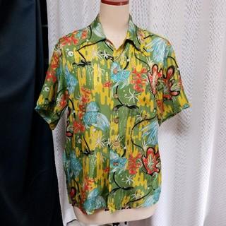 マカブー(makapu'u)のMAKAPUU アロハシャツ 熱帯魚 金魚 和柄(シャツ)