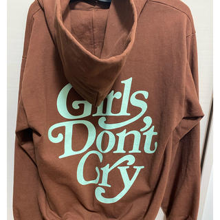 girls don't cry パーカー
