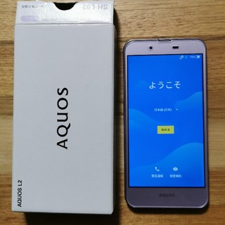 SHARP - AQUOS L2 SIMフリー おサイフケータイ