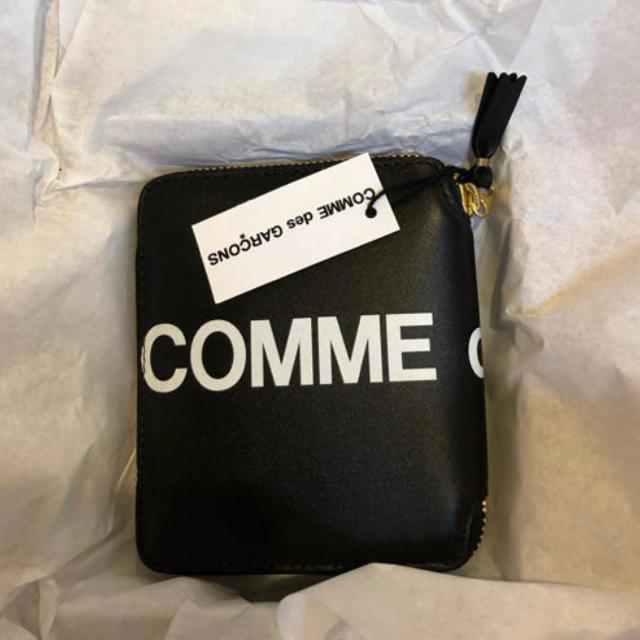 COMME des GARCONS(コムデギャルソン)の定価以下‼️ コムデギャルソン 完売 財布 ロゴ ジップ メンズのファッション小物(折り財布)の商品写真