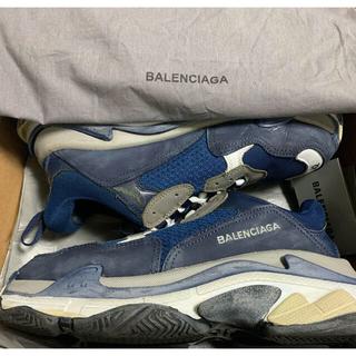Balenciaga - BALENCIAGA triples トリプルエス ネイビー