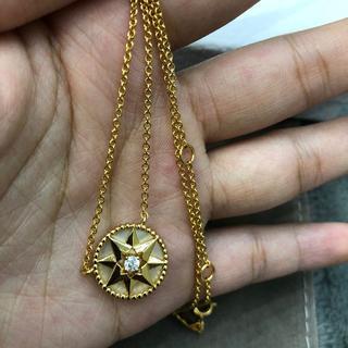 Dior - 八芒星羅針盤 ネックレス