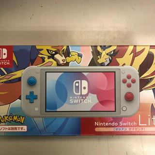 ニンテンドースイッチ(Nintendo Switch)のNintendo Switch Lite スイッチ ライト ザシアン 本体 新品(携帯用ゲーム機本体)