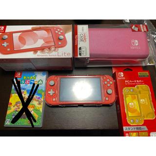 ニンテンドースイッチ(Nintendo Switch)のNintendo Switch Lite ピンク (携帯用ゲーム機本体)