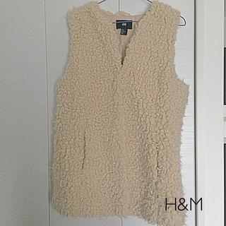 エイチアンドエム(H&M)のH&M モコモコベスト(ダウンベスト)